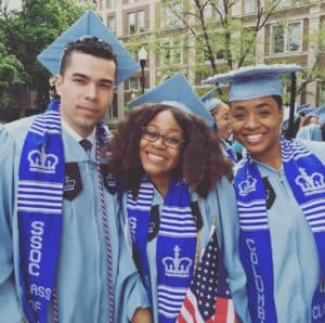 Customized Handwoven Kente Stoles At Columbia University Graduation